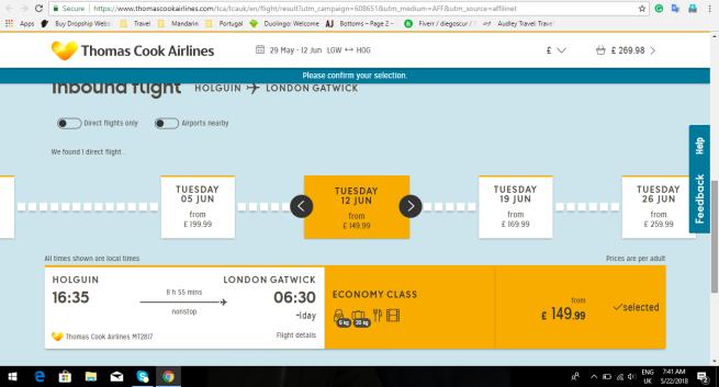 London Uk To Holguin Cuba 163 269 98 Return Ticket