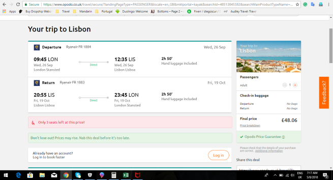 London to Lisbon 48.06