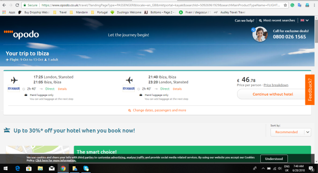 London to Ibiza 46.78