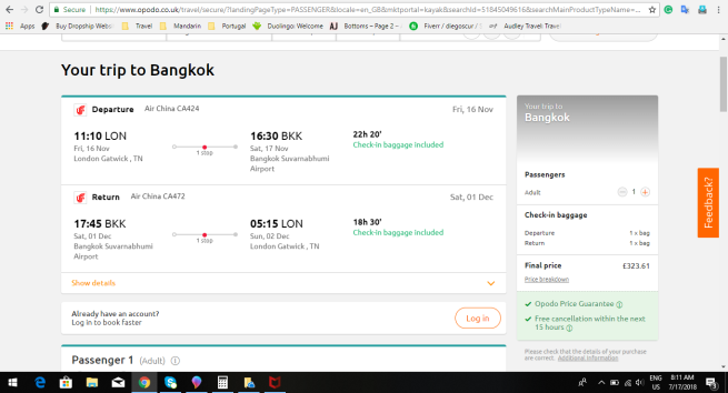 London to Bangkok 323.61